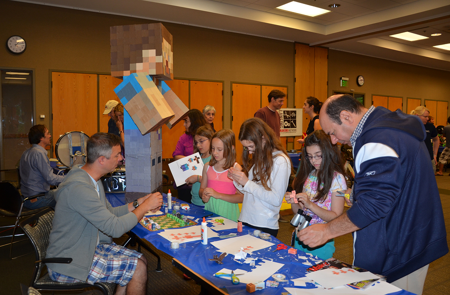 Minecraft Paper Characters