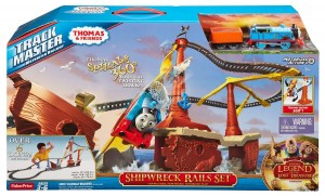 Fisher Price Thomas and Friends TrackMaster Shipwreck Rails Set