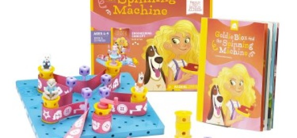 GoldieBlox – Construction and Design Toy For Girls