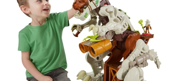 Fisher-Price Imaginext Ultra T-Rex – Are Dinosaurs Too Scary?