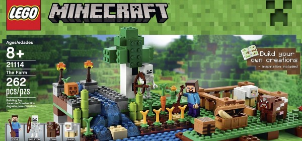 LEGO Minecraft 21114 The Farm – Riding Minecraft's Popularity